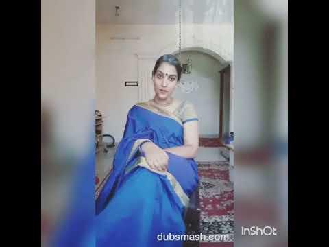 nilambari padayappa tamil dubsmash