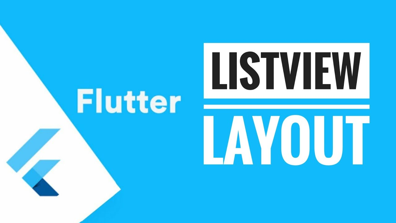 Flutter ListView | How to Create Different Types of ListView Layout | Flutter