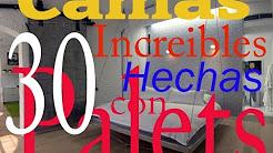 30 CAMAS INCREÍBLES HECHAS CON PALETS