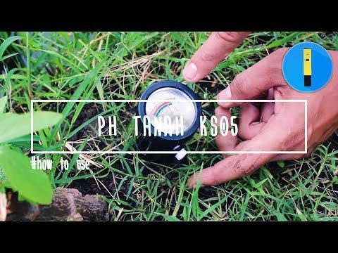 Penggunaan pH Tanah Peluru KS05