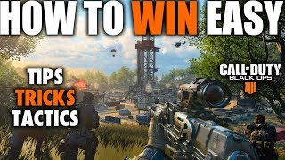 TIPS & TRICKS TO WIN IN BLACKOUT THE NEXT BIG BATTLE ROYALE | Call of Duty Black Ops 4