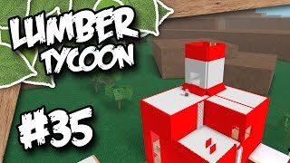 Lumber Tycoon 2 #35 - TOWER BASE (Roblox Lumber Tycoon)