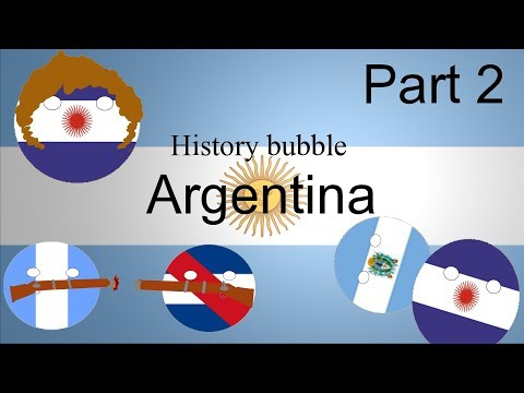 History bubble Argentine confederation and civil war