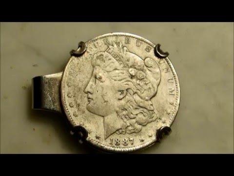 💰⚜My rare 1887 US silver Morgan dollar coin⚜💰