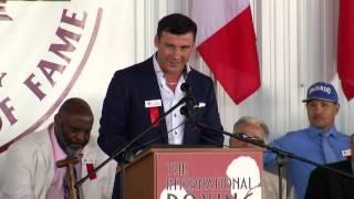2014 IBHOF - Joe Calzaghe Acceptance Speech