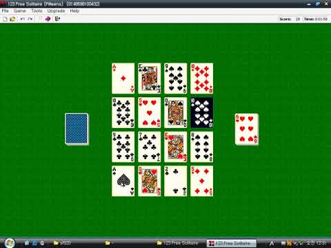 123 Free Solitaire V4.7 (Windows Game 2000)