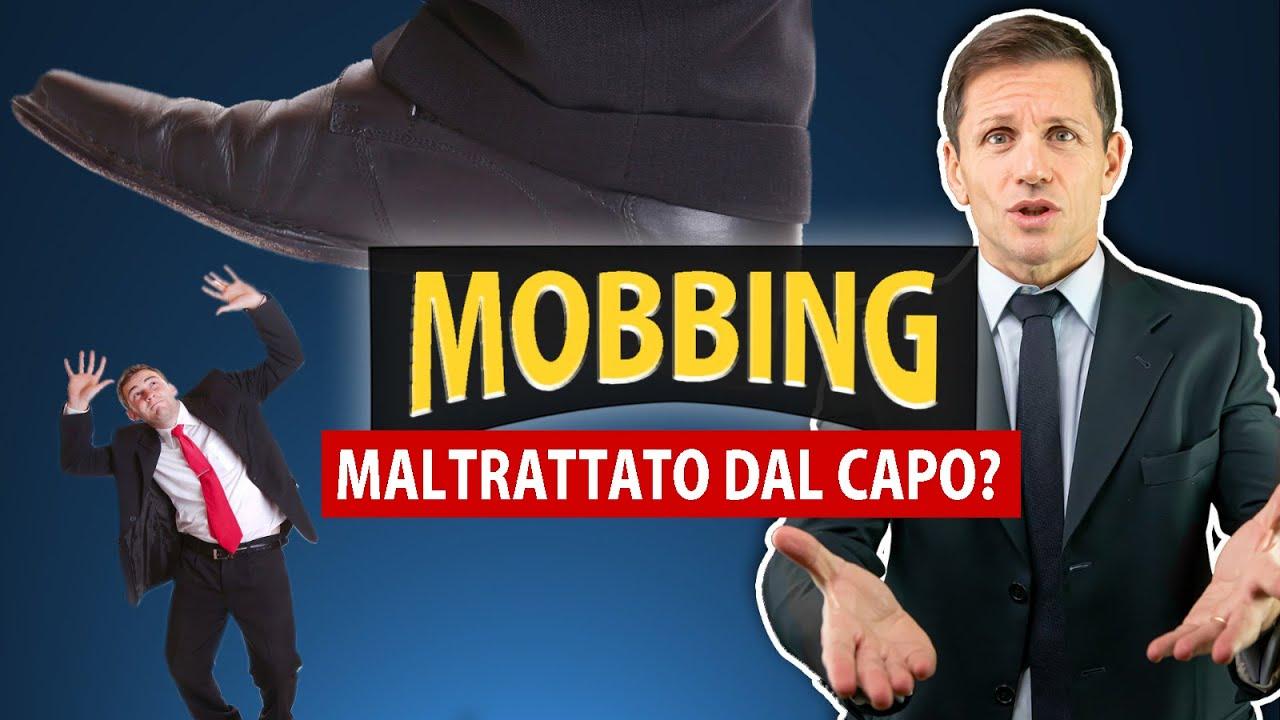 Download MOBBING: anche tu sei stato MALTRATTATO dal CAPO? | Avv. Angelo Greco