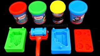 Kids Fun Learning Colors with THOMAS AND FRIENDS DOUGH ENGINE MAKER | itsplaytime612