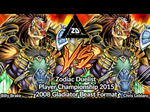 Billy Brake Vs Chris Leblanc -  Gladiator Beast Format - Zodiac Championship