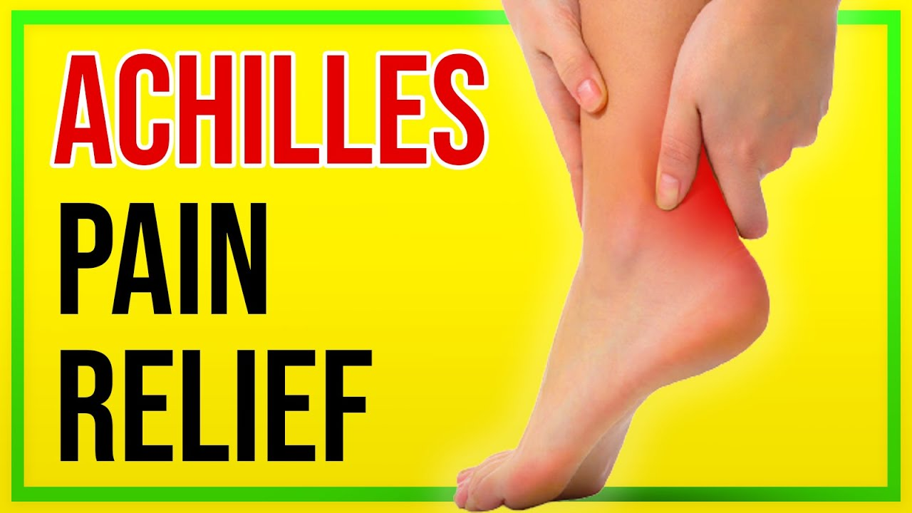 Achilles Pain: Try this Simple Self