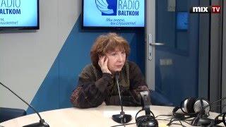 Российская певица и актриса Елена Камбурова на радио Baltkom