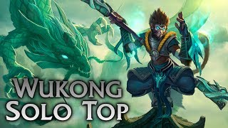 League of Legends | Jade Dragon Wukong Solo Top #2 - Full Game Commentary