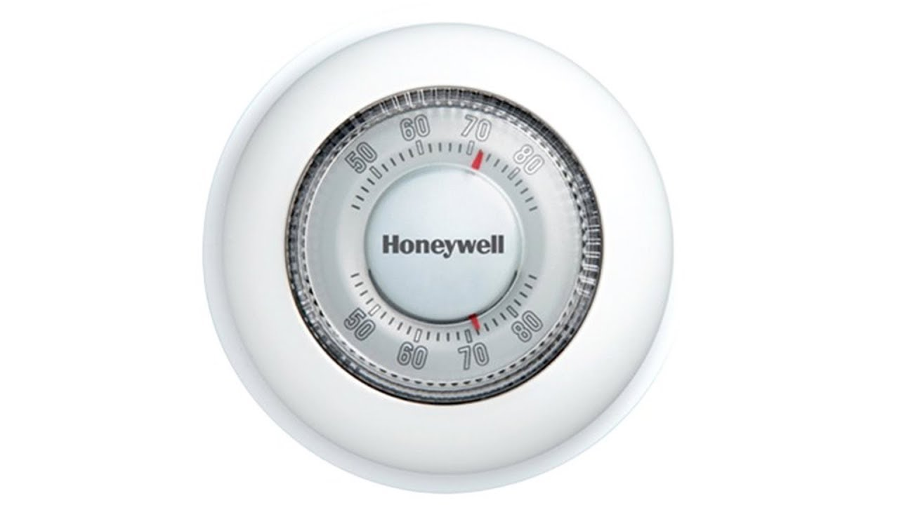 Honeywell Round Heat Cool Manual Thermostat Ct87n