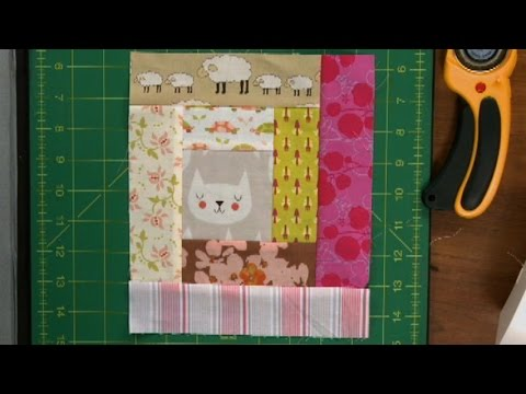 Log Cabin Quilt Squares With Scraps National Quilters