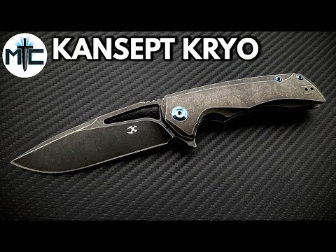Kansept Kryo Folding Knife – Overview and Review