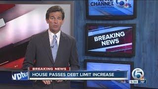 House passes debt limit increase