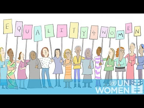 Gender equality through a cartoonist-s lens