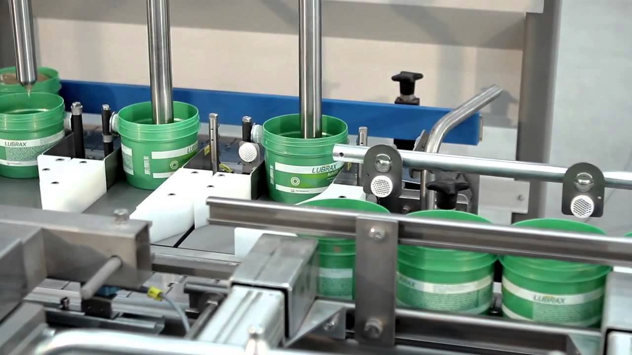 Automatic Grease Filling Line Www Feige Com Youtube