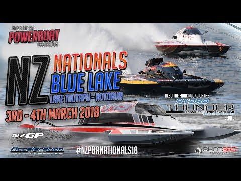 NZ Powerboat Nationals 2018 - Lake Tikitapu | Blue Lake Rotorua Day 1