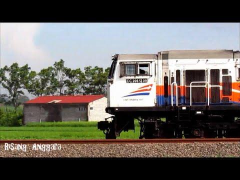 Kereta Api Kelas Eksekutif dan Bisnis Lodaya Pagi (Solo Balapan-Bandung)