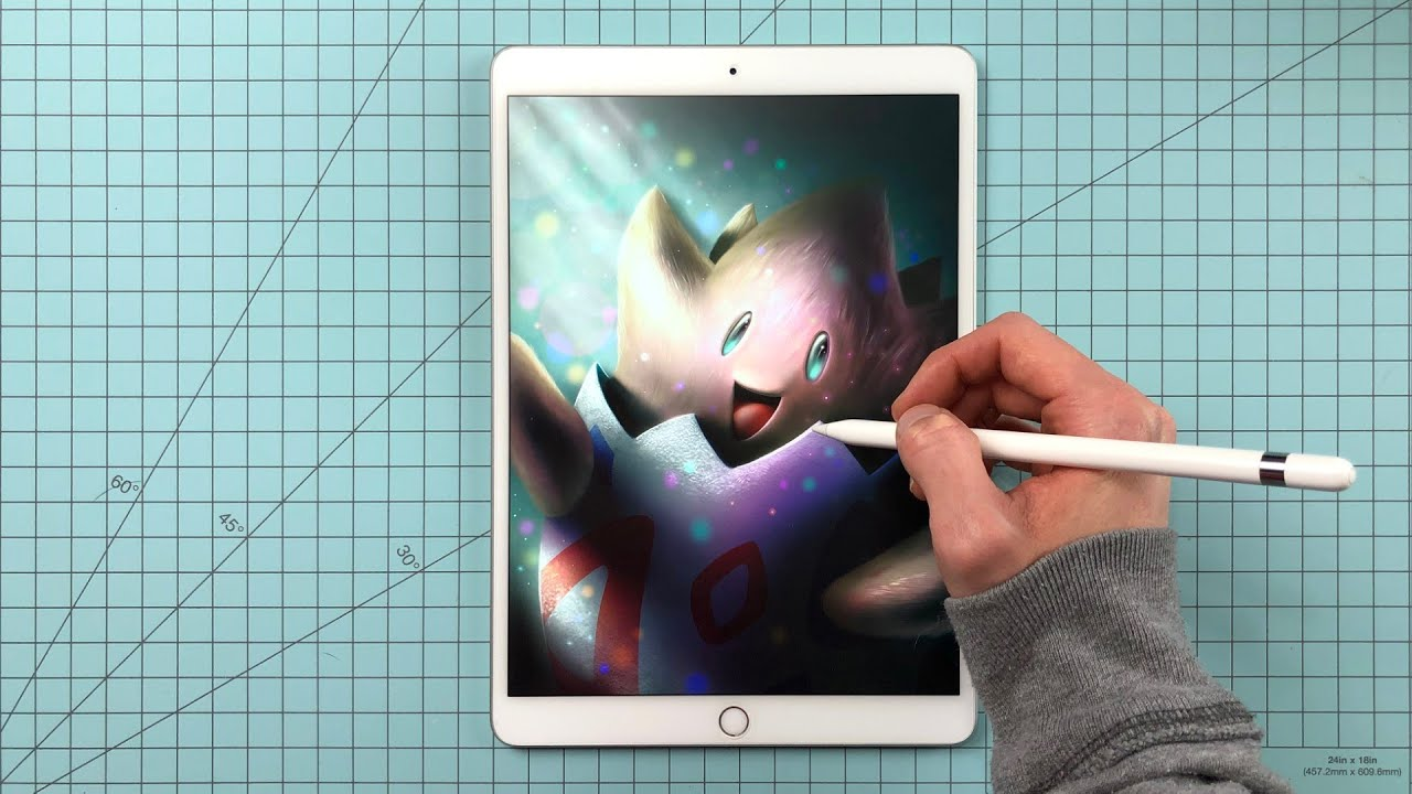 Painting Togepi - Pokemon Procreate Digital Painting