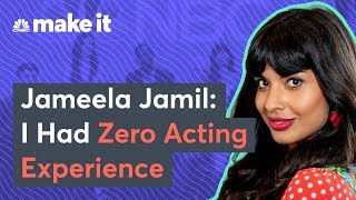 How Jameela Jamil Landed 'The Good Place' With No Acting Experience