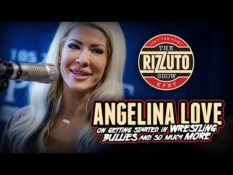 ANGELINA LOVE on getting started in wrestling, bullies, and so much more! [Rizzuto Show]