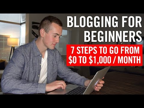 How To Make Money Blogging 💸 7 Steps To A Successful Blog! - 동영상
