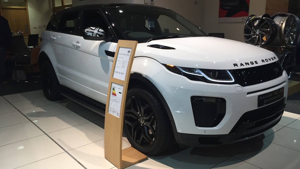 2017 range rover evoque coupe union jack exterior and. Black Bedroom Furniture Sets. Home Design Ideas