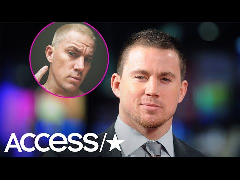 Mikey V - Channing Tatum Debuts New Hairstyle!