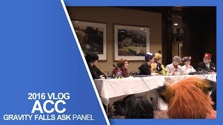 Gravity Falls Truth or Dare Panel - Another Anime Convention 2016