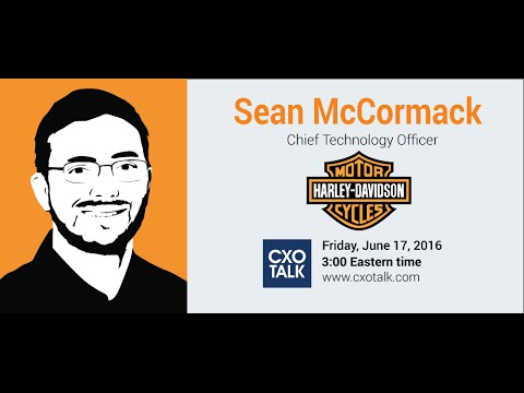 #176: Innovation at Harley-Davidson with Sean McCormack, Chief Technology Officer