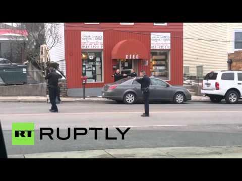 USA: Cincinnati police shoot and kill black man as he reached for 'pellet gun'