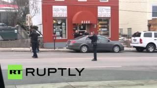 USA: Cincinnati police shoot and kill black man as he reached for