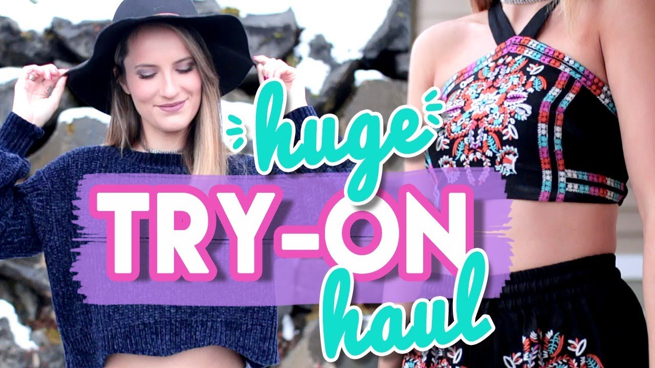 HUGE Winter Try-On Clothing Haul! Affordable + Cute!