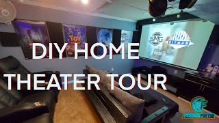 DIY Home Theater Tour   Home T…