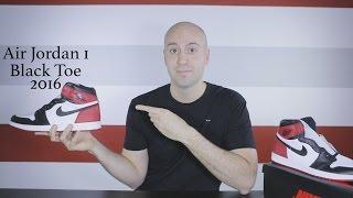 17290ac006ce Air Jordan 1 Black Toe Retro High OG - Unboxing - Review - on feet -