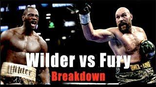 Wilder vs Fury Breakdown - Battle of the Giants Explained |Brawler vs Boxer