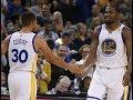 Kevin Durant & Stephen Curry highlights vs Dallas Mavericks - NBA Season 2017-2018