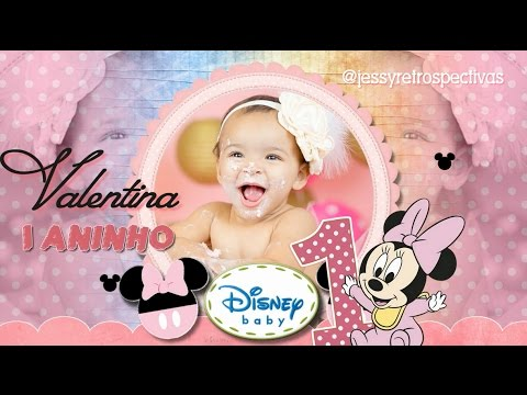 Convite Animado Save The Date Minnie Baby
