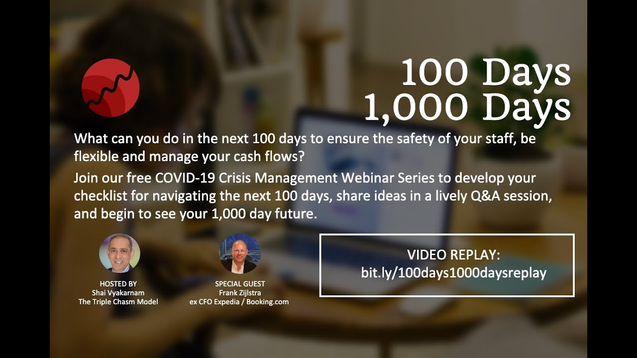 #100Days#1000Days - Navigating your business through COVID-19