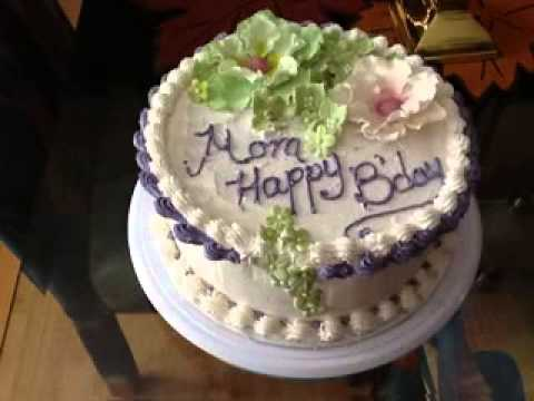 Birthday cake decorating ideas for mom YouTube