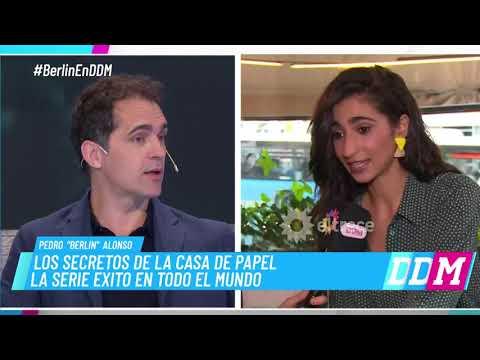 El actor de La casa de papel, Pedro Alonso, dio detalles de la tercera temporada de la serie