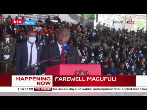 President Ramaphosa: When he came to South Africa he brought me a box full of Swahili books