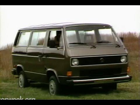 MotorWeek | Retro Review '84 Volkswagen Vanagon
