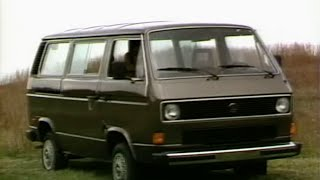 MotorWeek | Retro Review '84 Volkswagen Vanagon