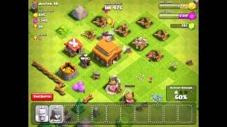 Clash of Clans - Starting Clash from Scratch #5 - BARCHING RESOURCES