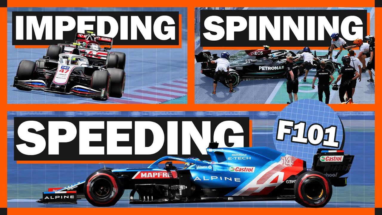 What Can An F1 Driver Get A Penalty For?