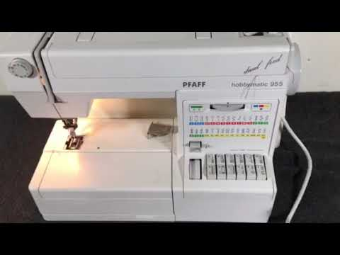 Pfaff Hobbymatic 40 Dual Feed Sewing Machine On EBay YouTube Inspiration Ebay Pfaff Sewing Machines