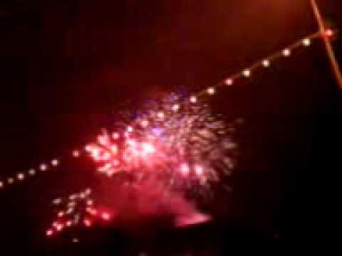 fireworks in elva 2009/2010 2/2 estonia